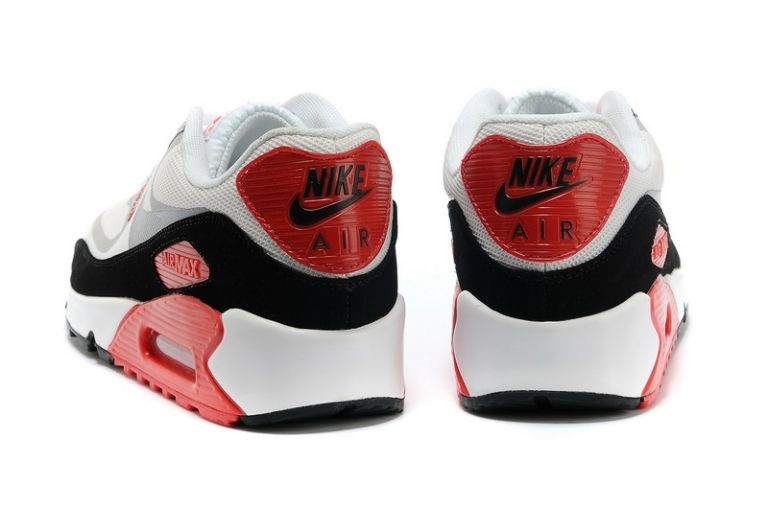 Mens Nike Air Max 90 Premium Tape Runinng Shoes Infrared