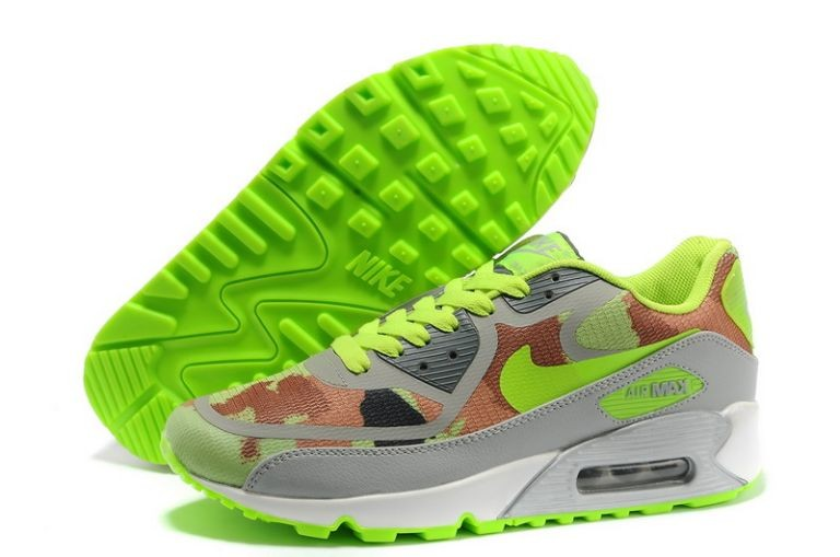 Mens Nike Air Max 90 Premium Tape Runinng Shoes Linen Flash Lime Moon Grey Cargo Khaki