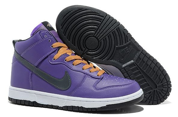 "Mens Nike Dunk SB High Shoes ""Baltimore Ravens"" Purple"