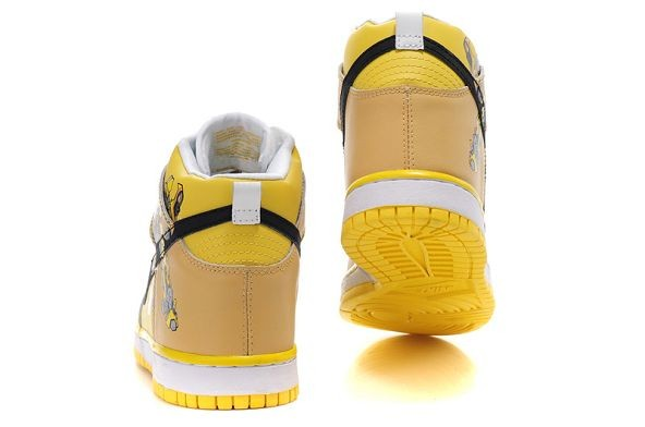 "Mens Nike Dunk SB High Shoes ""Bumblebee"""