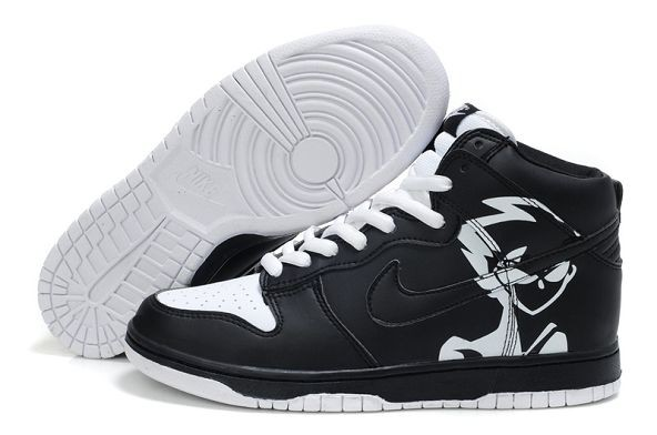 Mens Nike Dunk SB High Shoes Naruto Hatake KakasHigh