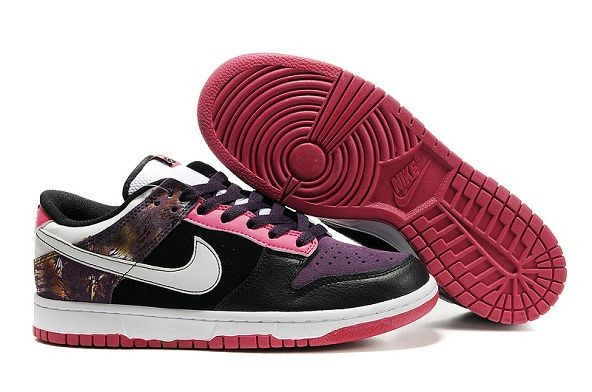 Mens Nike Dunk SB Low Shoes 6.0 Purple Pink Black