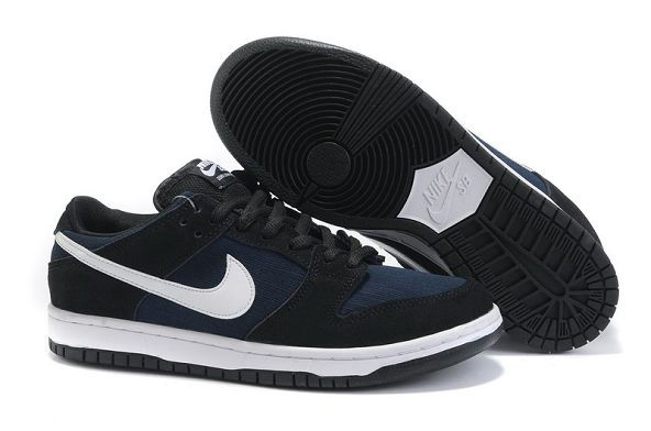 Mens Nike Dunk SB Low Shoes Black White