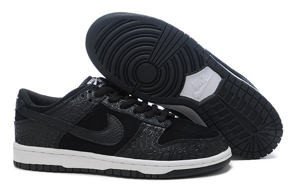 Mens Nike Dunk SB Low Shoes Black
