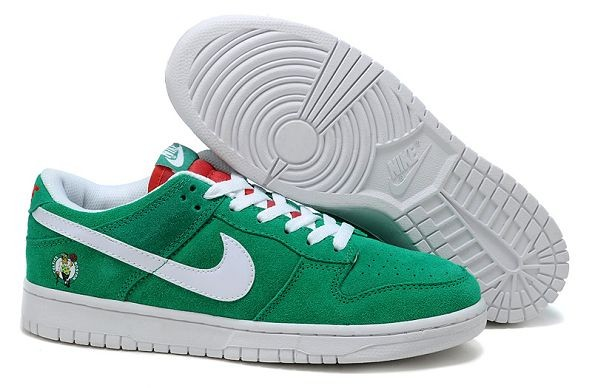 "Mens Nike Dunk SB Low Shoes ""Boston Celtics"" Green"