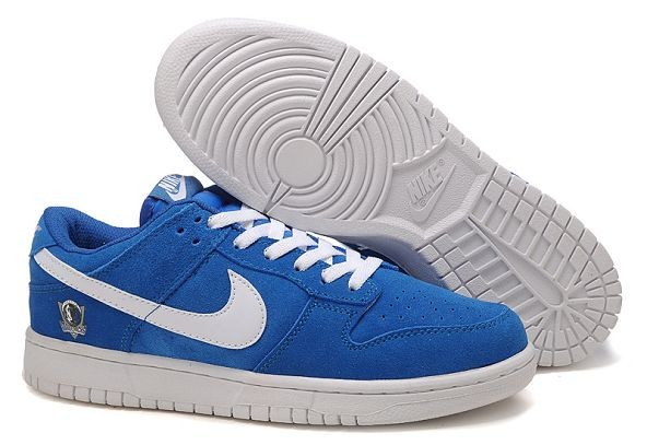 "Mens Nike Dunk SB Low Shoes ""Dallas Mavericks"" Blue"