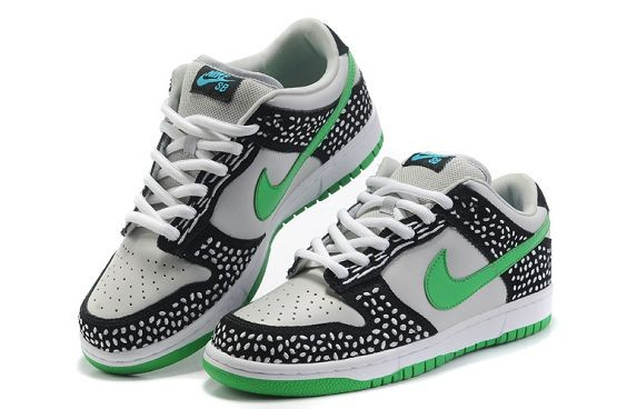 Mens Nike Dunk SB Low Shoes Premium Neutral Grey Green