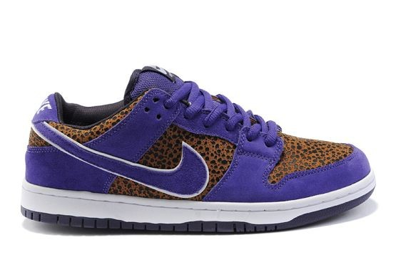 Mens Nike Dunk SB Low Shoes Premium Neutral Purple Safari