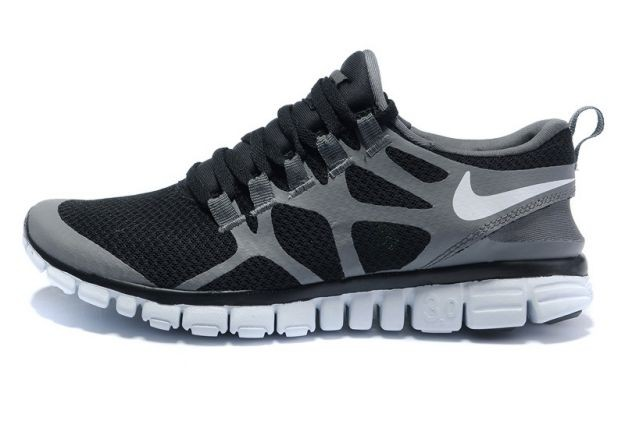 Mens Nike Free 3.0 V3 Anthracite/Grey-White Running Shoes