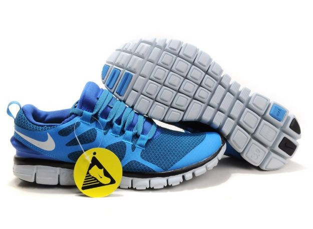 Mens Nike Free 3.0 V3 Royal/White Running Shoes