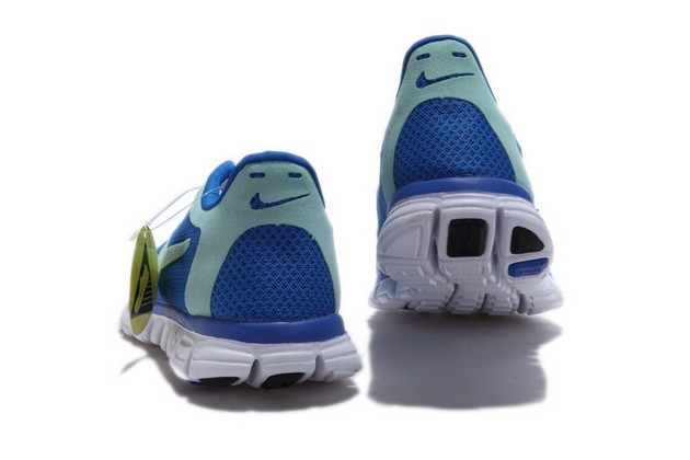 Mens Nike Free Run 3.0 V2 Blue Running Shoes