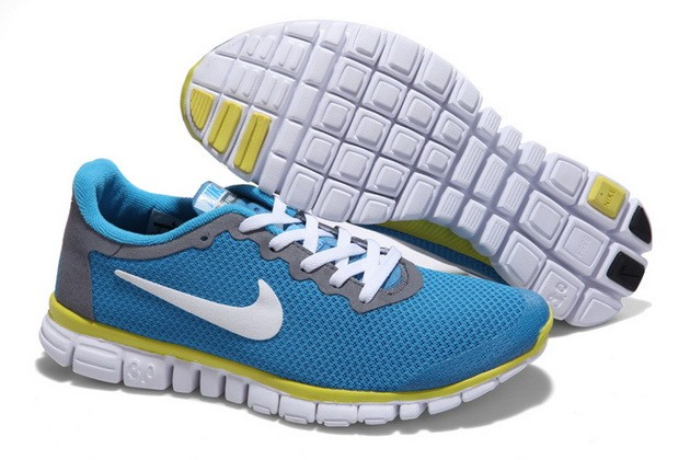Mens Nike Free Run 3.0 V2 Jade Running Shoes