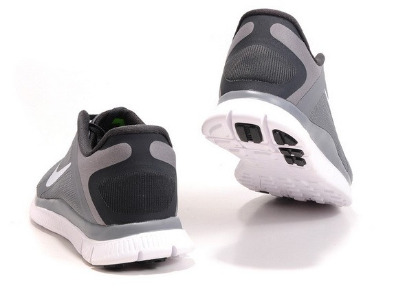 Mens Nike Free Run 4.0 V3 Grey Running Shoes