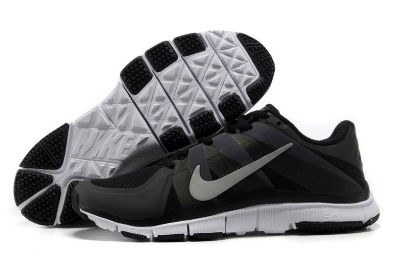 Mens Nike Free Trainer 5.0 V3 Black White Training Shoes