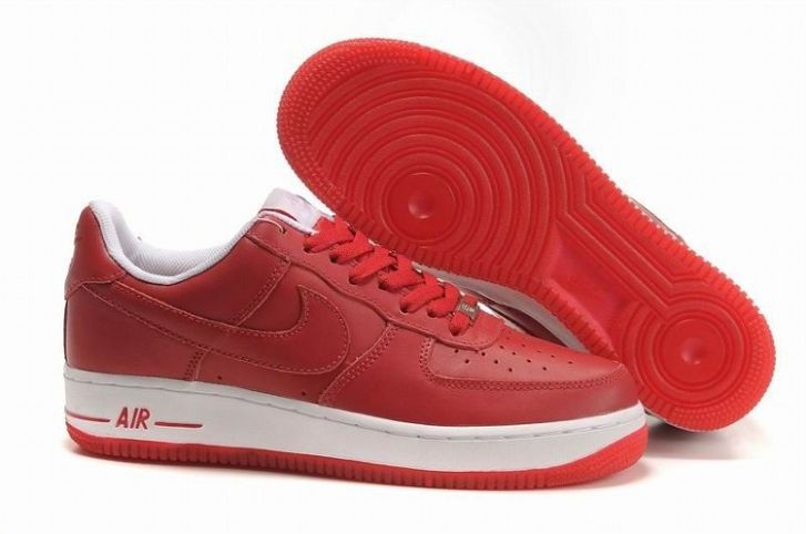 Nike Air Force 1 Low 07 Women's Shoe Red White