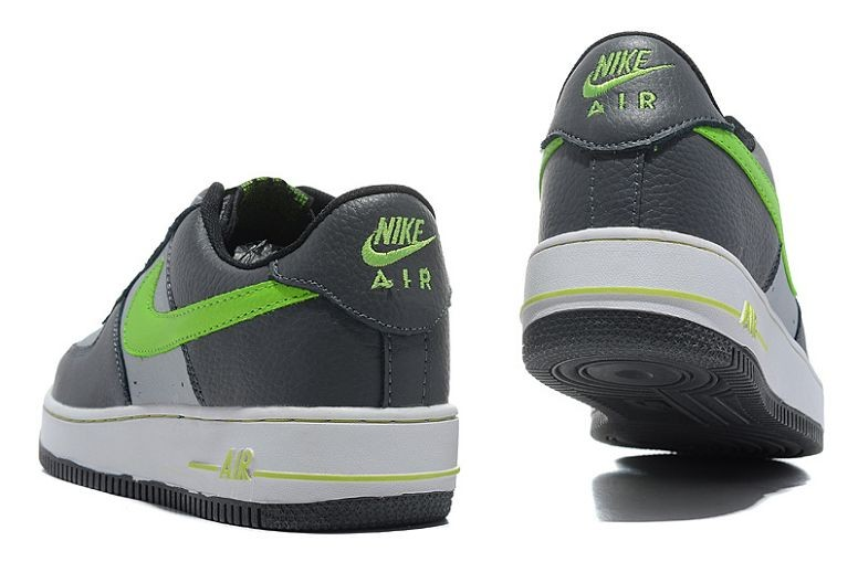 Nike Air Force 1 Low Mens Trainers Grey Volt White