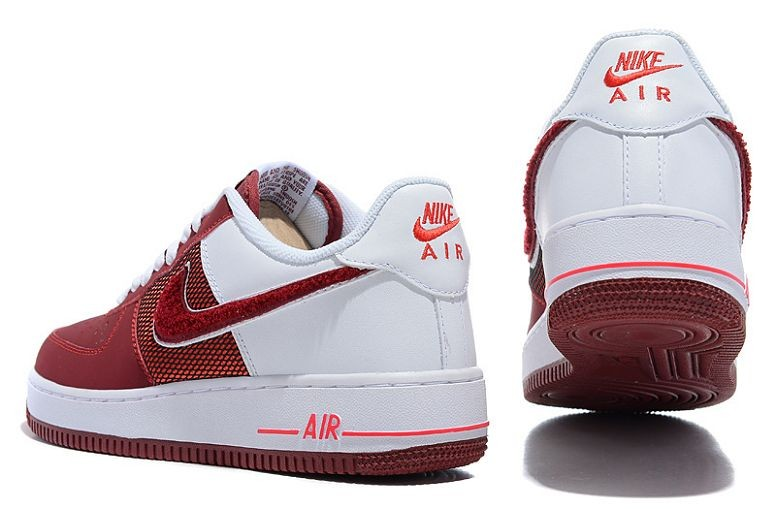Nike Air Force 1 Low Mens Trainers Hyper Red