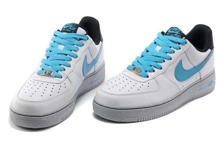 Nike Air Force 1 Low Mens Trainers White Blue