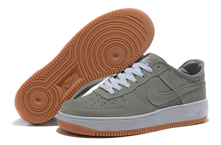 Nike Air Force 1 Low Suede Mens Shoes Grey