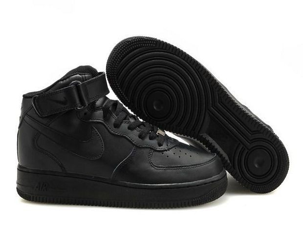 Nike Air Force 1 Mid 07 Women's Shoe Black