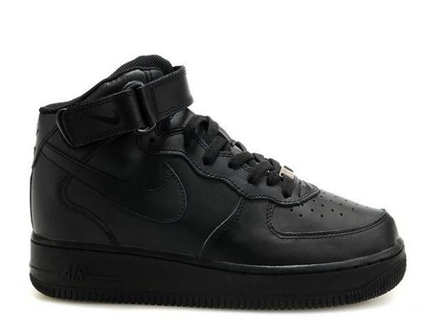 Nike Air Force 1 Mid 07 Women\'s Shoe Black