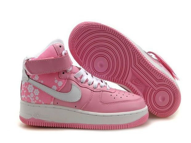 Nike Air Force 1 Mid 07 Women's Shoe Pink White
