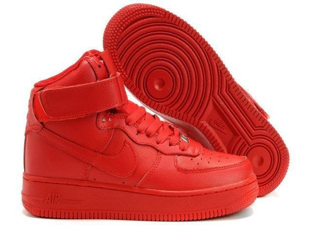Nike Air Force 1 Mid 07 Women's Shoe Varsity Red