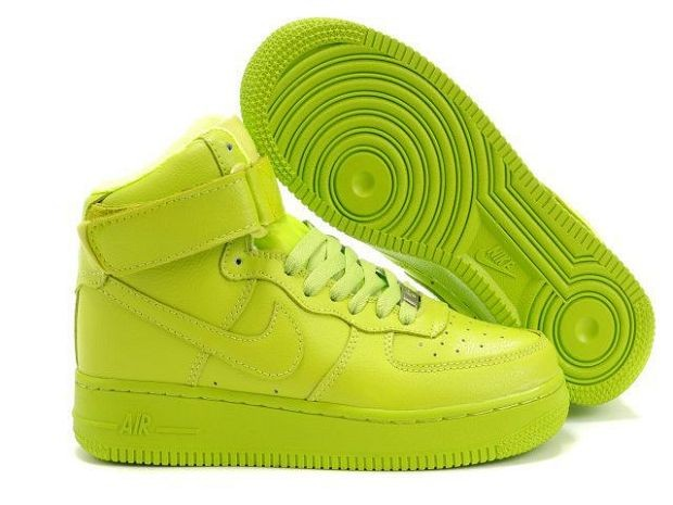 Nike Air Force 1 Mid 07 Women's Shoe Volt