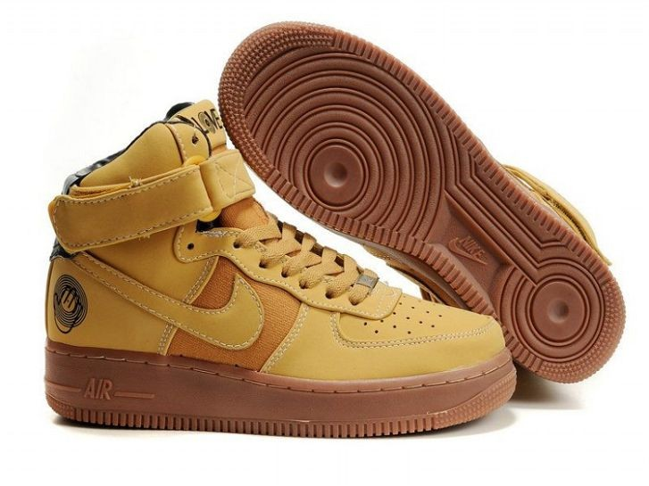 Nike Air Force 1 Mid Mens Trainers Haystack