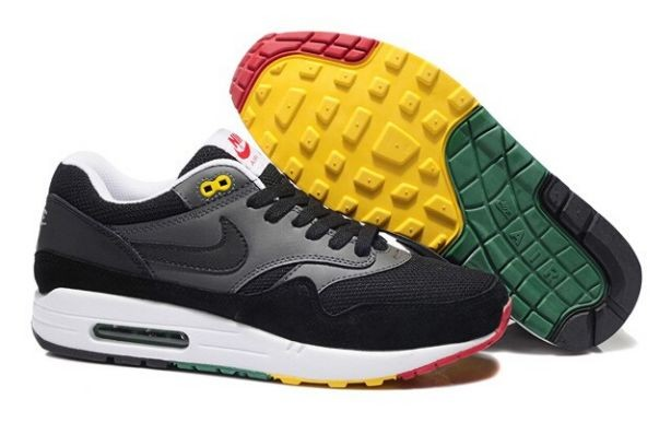 Nike Air Max 1 Essential Mens Trainers Dark Grey Anthracite White
