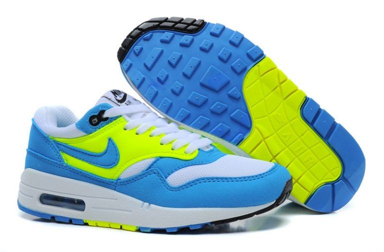 Nike Air Max 1 Essential Women's Shoe White Photo Blue Volt
