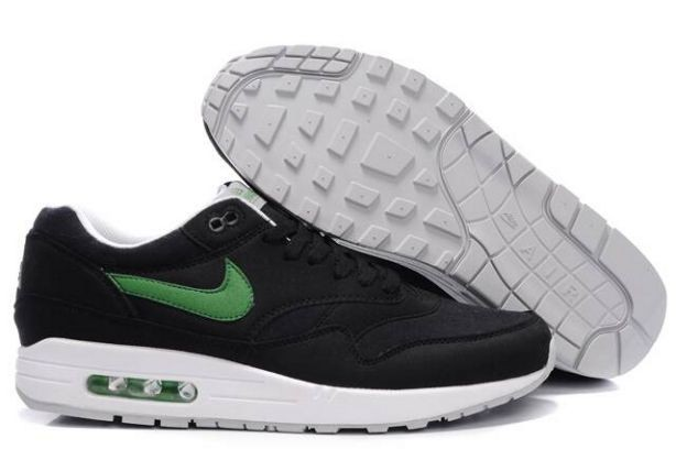 "Nike Air Max 1 Mens Trainers ""ACG"" Black Green"