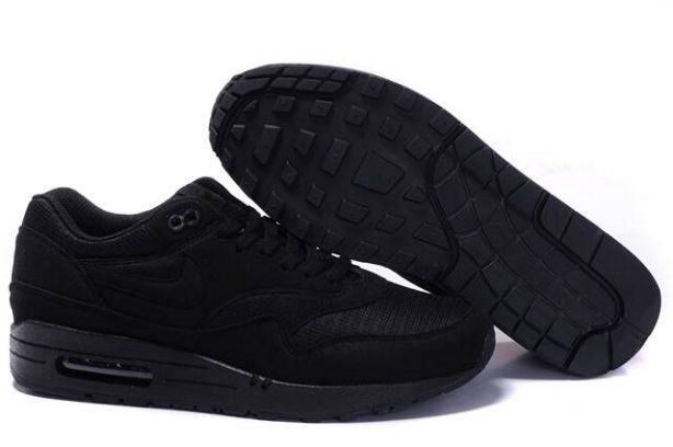 Nike Air Max 1 Mens Trainers All Black