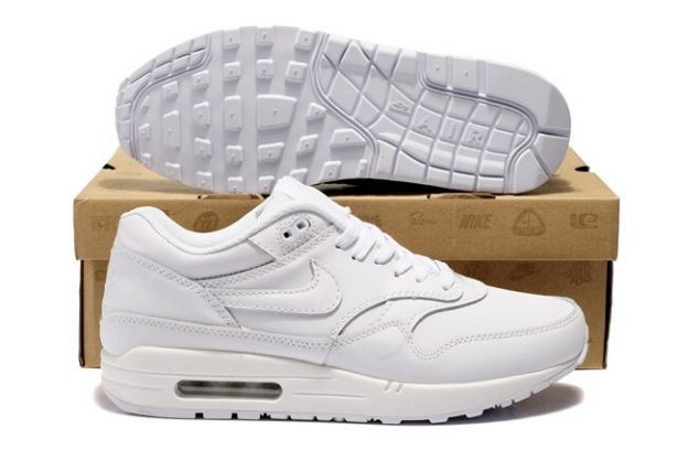 Nike Air Max 1 Mens Trainers All White