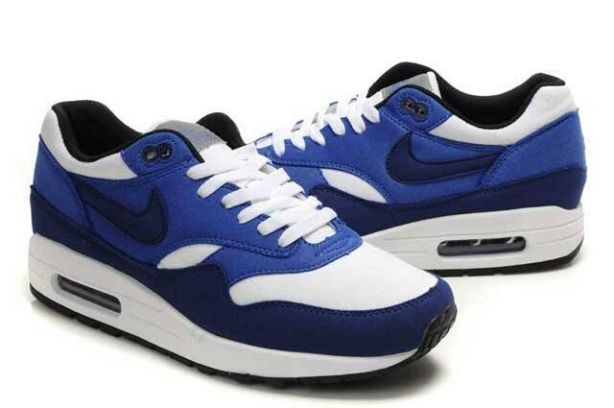 Nike Air Max 1 Mens Trainers Blue Navy White