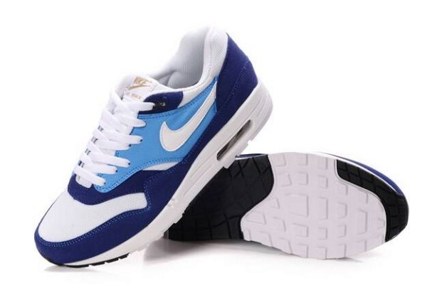 Nike Air Max 1 Mens Trainers Midnight Navy White Soar