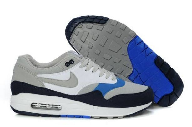 Nike Air Max 1 Mens Trainers Neutral Grey Obsidian