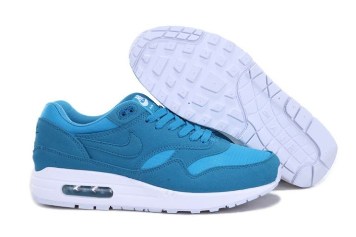 "Nike Air Max 1 Mens Trainers ""Ripstop Brights"" Dynamic Blue White"