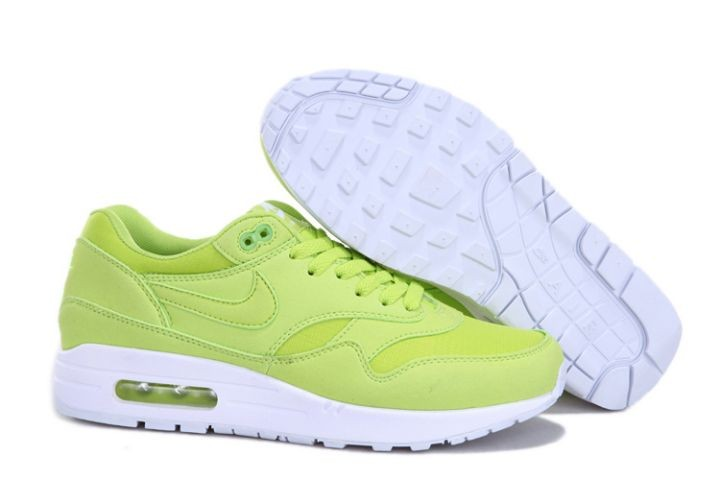 "Nike Air Max 1 Mens Trainers ""Ripstop Brights"" Mint Green White"