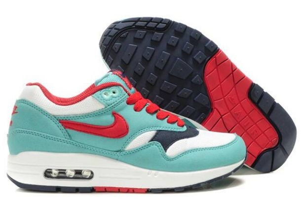 Nike Air Max 1 Womens Trainers Retro Sport Red