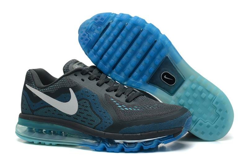 Nike Air Max 2014 Mens Running Shoes Anthrct Rflct Slvr Pht Bl Plrz