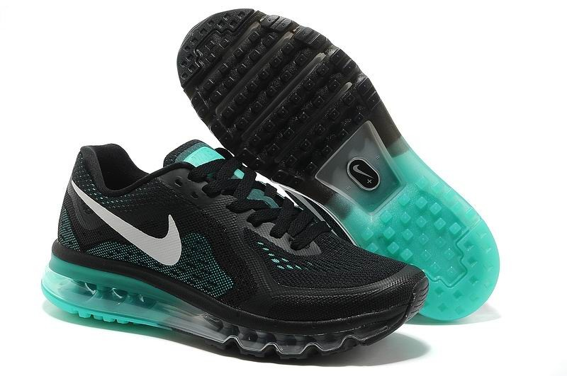 Nike Air Max 2014 Mens Running Shoes Black Turquoise