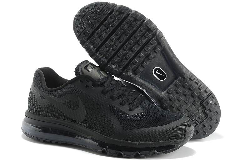 Nike Air Max 2014 Mens Running Shoes Black