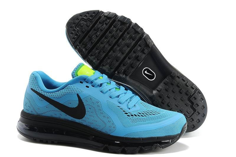 Nike Air Max 2014 Mens Running Shoes Jade Black