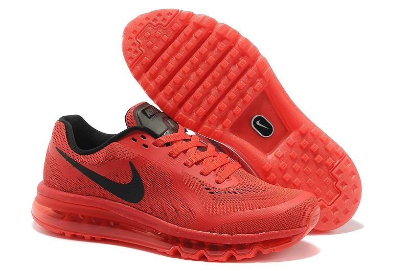 Nike Air Max 2014 Mens Running Shoes Red Black