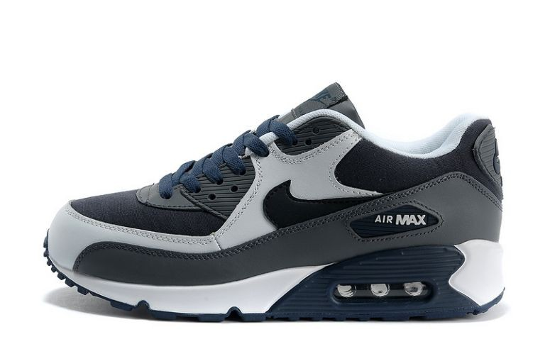 Nike Air Max 90 Essential Mens Trainers Anthracite White Black Obsidian