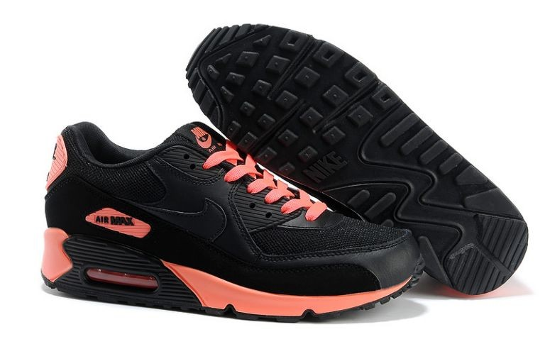 Nike Air Max 90 Essential Mens Trainers Black Anthracite Sunburst