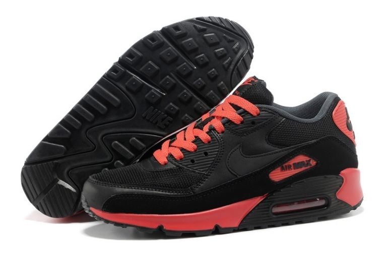 Nike Air Max 90 Essential Mens Trainers Black Sunburst