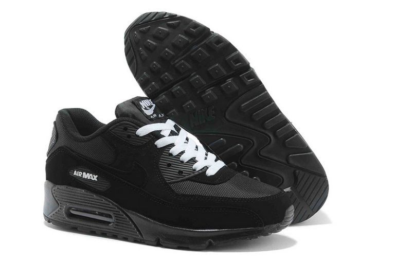 Nike Air Max 90 Essential Mens Trainers Black White