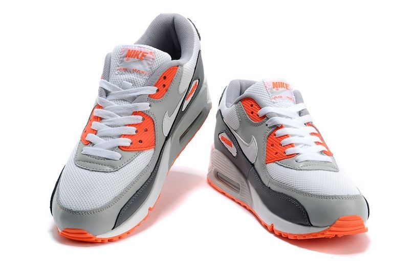 Nike Air Max 90 Essential Mens Trainers White Dark Shadow Red